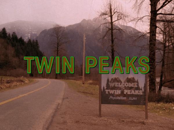 cartaz de Twin Peaks