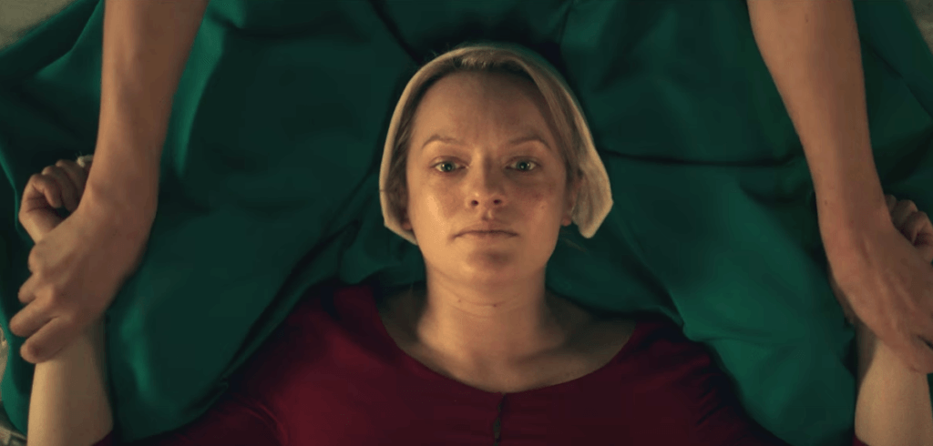 Offred em The Handmaids Tale