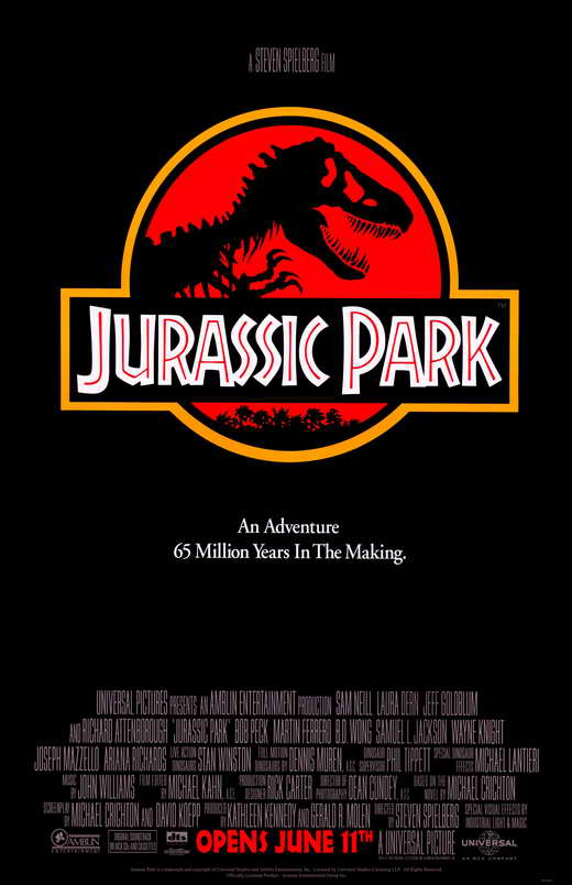 Cartaz de Jurassic Park