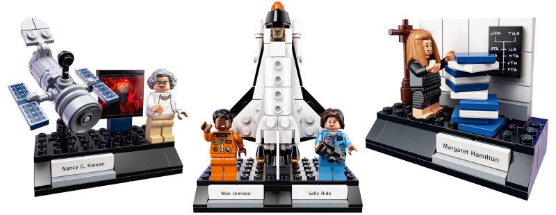 bonecas do Lego de Mulheres da Nasa
