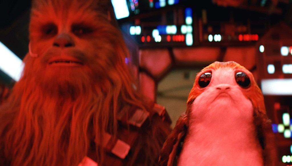 Porgs em Os Últimos Jedi