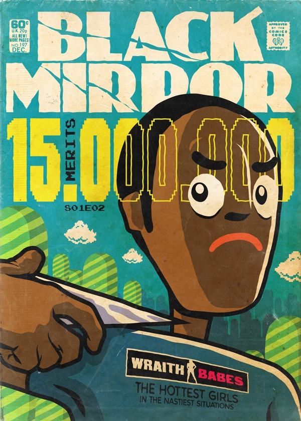 Black Mirror - Vintage HQs - Fifteen Million Merits