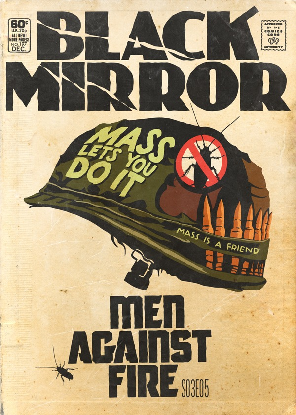 Black Mirror - Vintage HQs - Men Against Fire