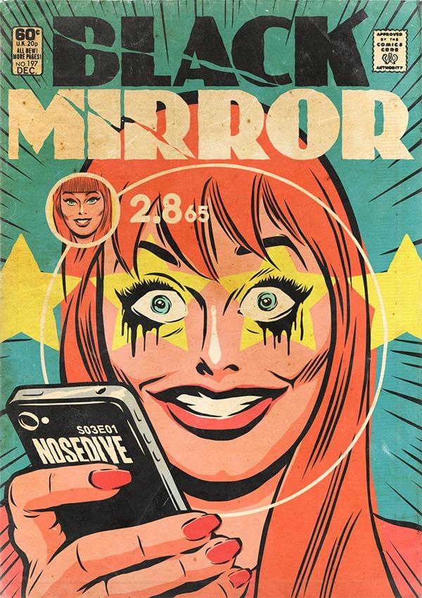 Black Mirror - Vintage HQs - Nosedive