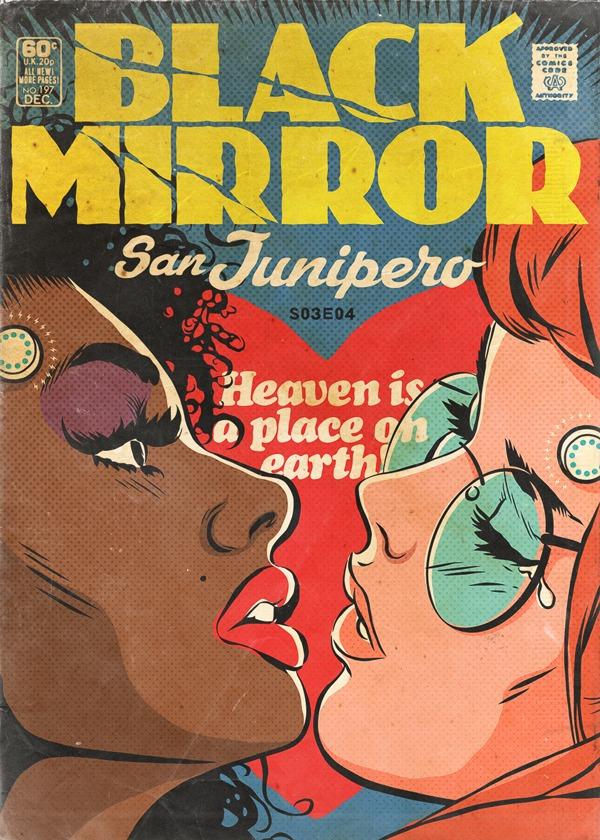 Black Mirror - Vintage HQs - San Junipero