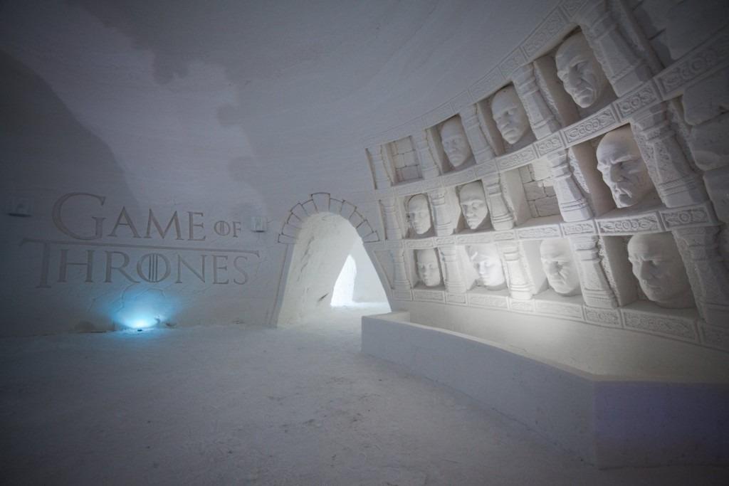 Hotel de Gelo Game of Thrones 2