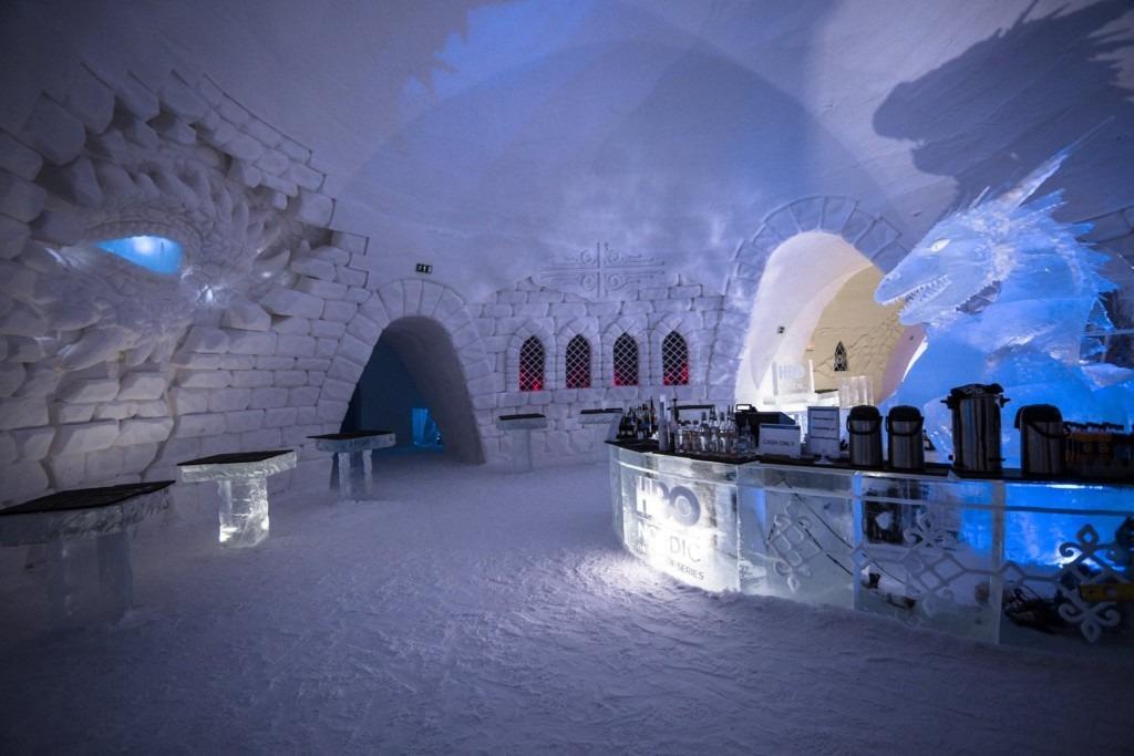 Hotel de Gelo Game of Thrones 7