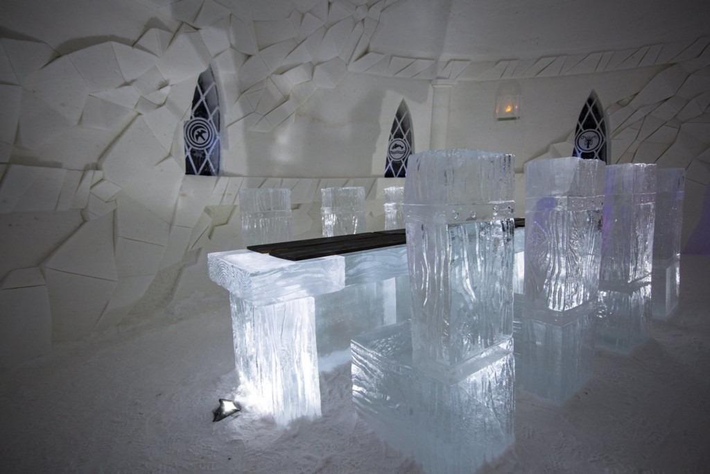 Hotel de Gelo Game of Thrones 8
