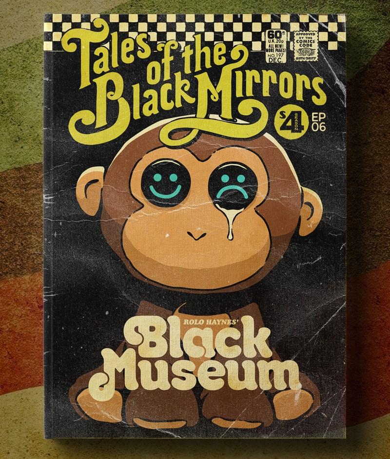 Poster Vintage de Black Mirror - Black Museum