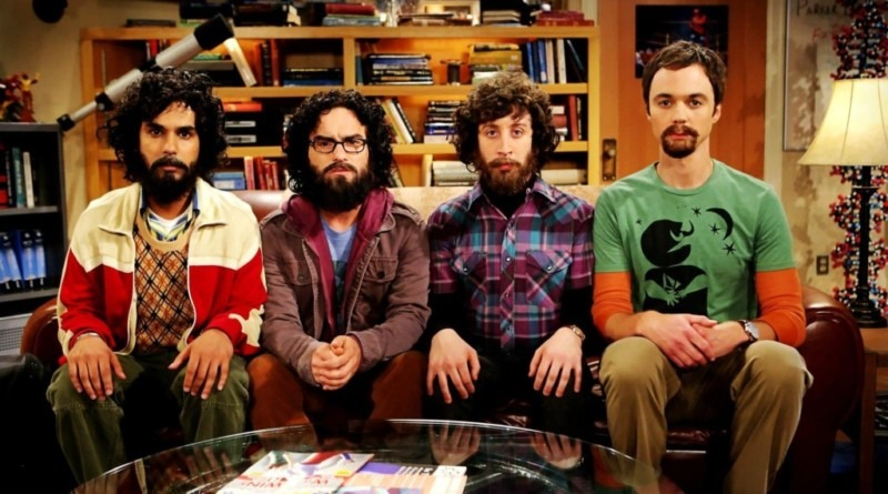 the big bang theory personagens com barbas
